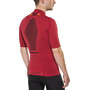 X-Bionic Trail Running Effektor Zip-Up Shirt SS Herr paprika/black