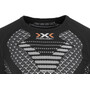 X-Bionic Twyce Running Shirt SS Herr black/white