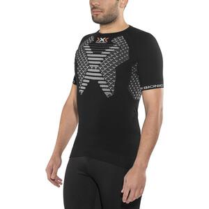 X-Bionic Twyce løpeskjorte ss Herre Svart/Hvit Svart/Hvit
