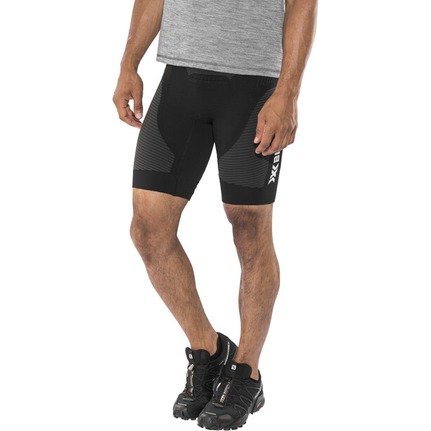 X-Bionic Speed Evo Running Pants Short Herr svart/grå