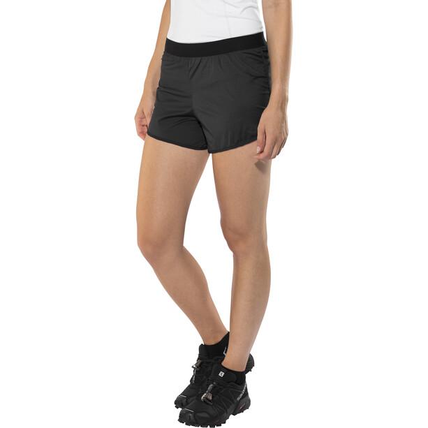 X-Bionic Aero Running Pants Short Dam black/white
