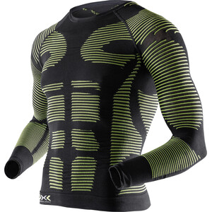 X-Bionic Precuperation Langarmshirt Herren black/yellow black/yellow