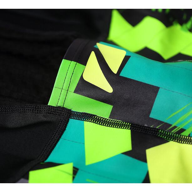 Zone3 Activate Plus Triatlondragt Herrer, sort/farverig