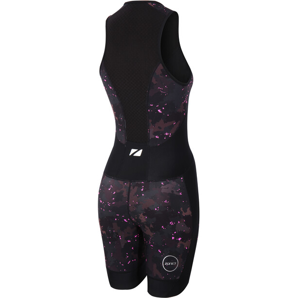 Zone3 Activate Plus Trisuit Damen stealth camo - full print
