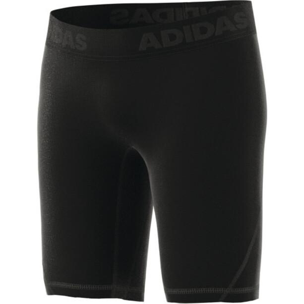 adidas Alphaskin Kurze Sporttights Herren schwarz