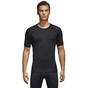 adidas Alphaskin Sport Kurzarm T-Shirt Herren black black