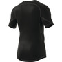 adidas Alphaskin Sport Kurzarm T-Shirt Herren black