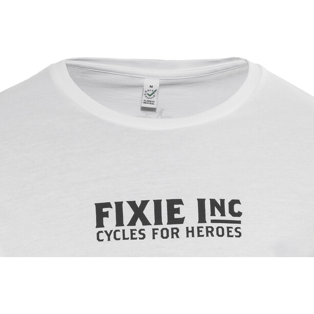 FIXIE Inc. Hero Shirt Herr white