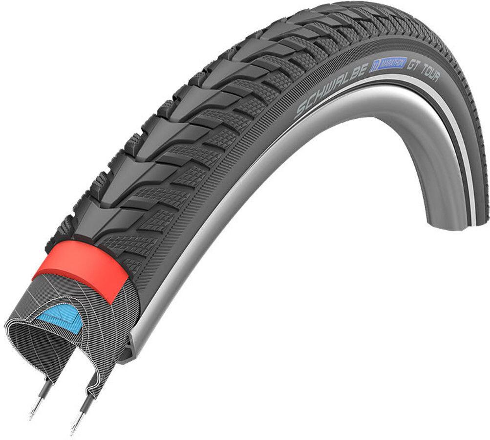 Schwalbe Reifen Marathon GT Tour E50 End 28x1,75 Schlauch 47-622mm Reflex