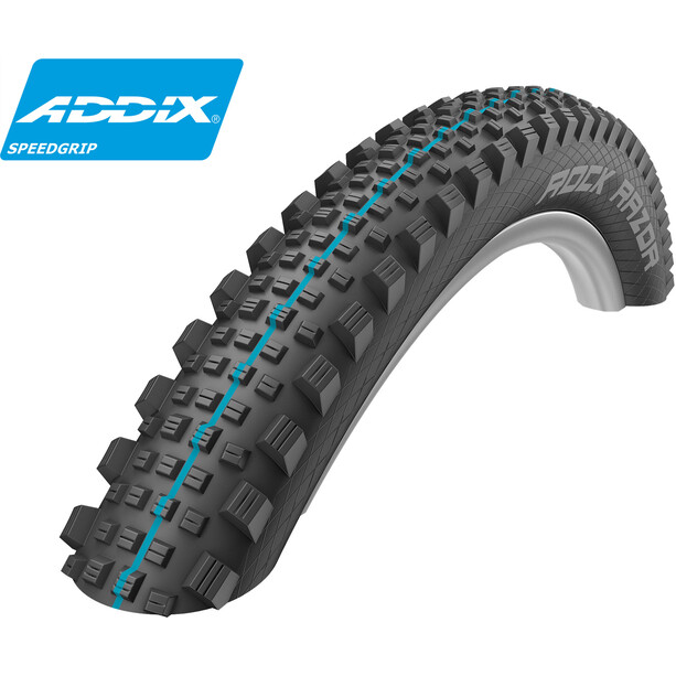 "SCHWALBE Rock Razor Faltreifen 27,5"" SnakeSkin TLE Apex Evolution Addix Speedgrip black"