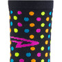 DeFeet Aireator Spotty Single Cuff Socken schwarz