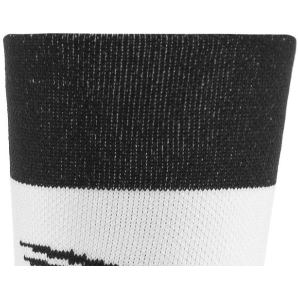 "DeFeet Aireator 5"" Double Cuff Socken team (schwarz)"