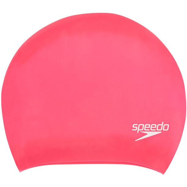 speedo Long Hair Cap ecstatic/magenta/pink splash