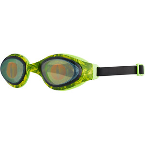 speedo Holowonder Printed Goggles Kinder lizard/smoke lizard/smoke