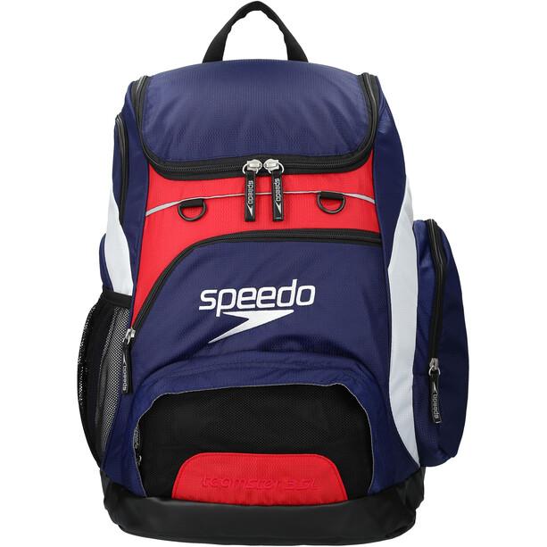 speedo Teamster Backpack L navy/red/white