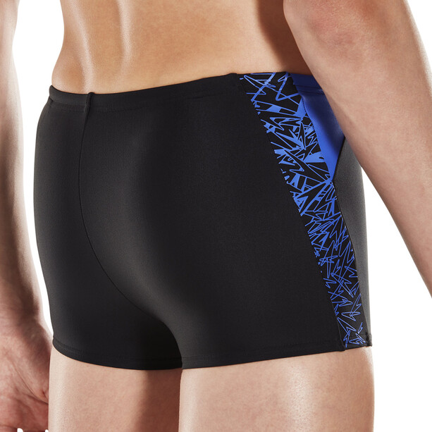 speedo Boom Splice Watershorts Jungen black/amparo blue