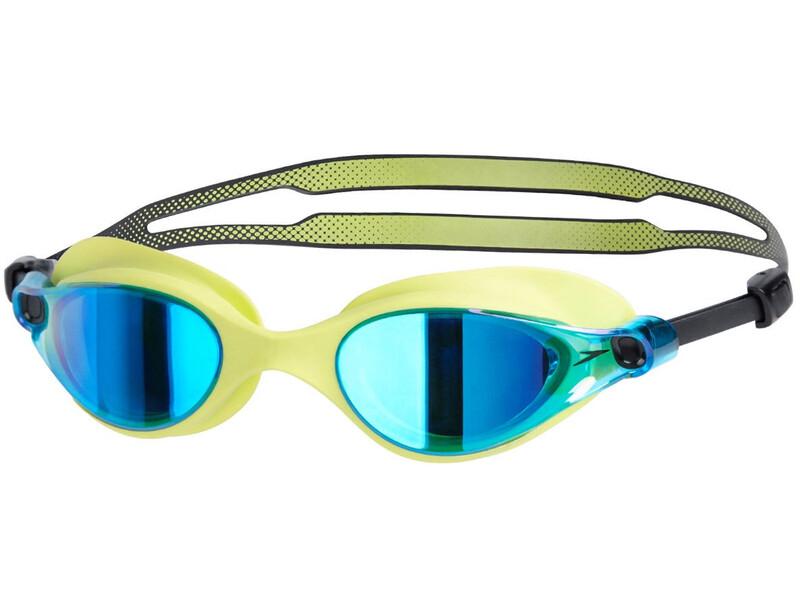 Vue Mirror Goggle Lime Punch/Blue 2018 Schwimmbrillen