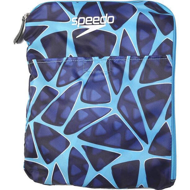 speedo Deluxe Ventilator Mesh Bag 35l cage blue