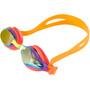 speedo Mariner Supreme Mirror Brille Kinder jaffa/watermelon/gold