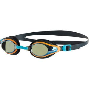 speedo Mariner Supreme Mirror Brille Kinder oxid grey/jaffa/titanium oxid grey/jaffa/titanium