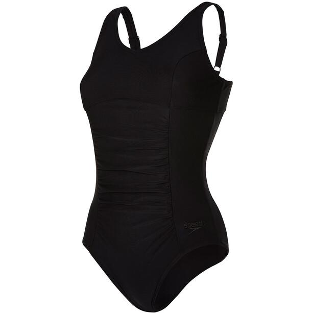 speedo Vivienne Clipback 1 Piece Badeanzug Damen black