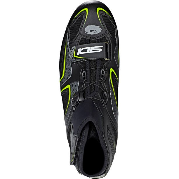 Sidi Frost Gore Schuhe Herren black/yellow