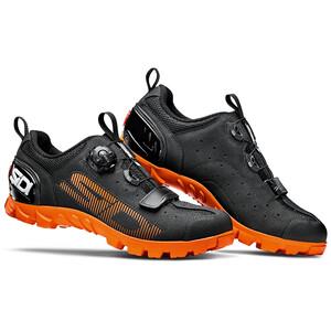 Sidi SD15 Schoenen Heren, zwart/oranje zwart/oranje