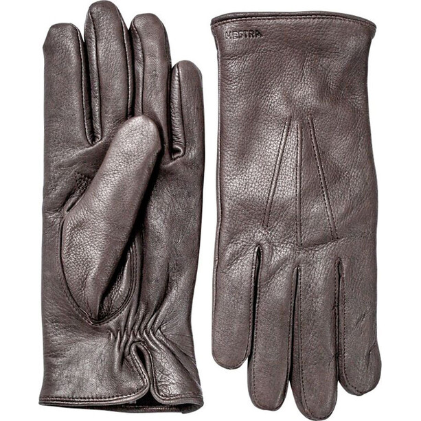 Hestra Norman Gloves Herr dark brown