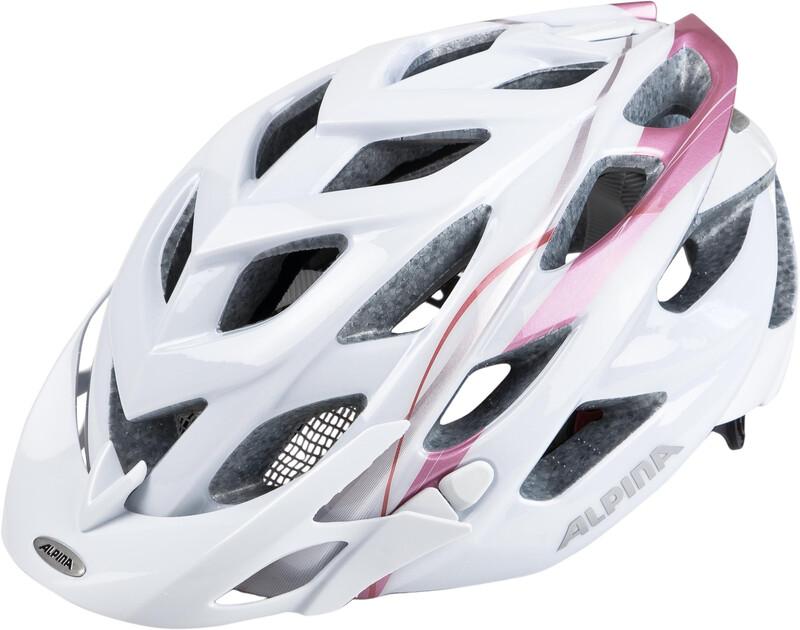 Alpina D-Alto Helmet white-rose gold 57-61cm 2018 Fahrradhelme