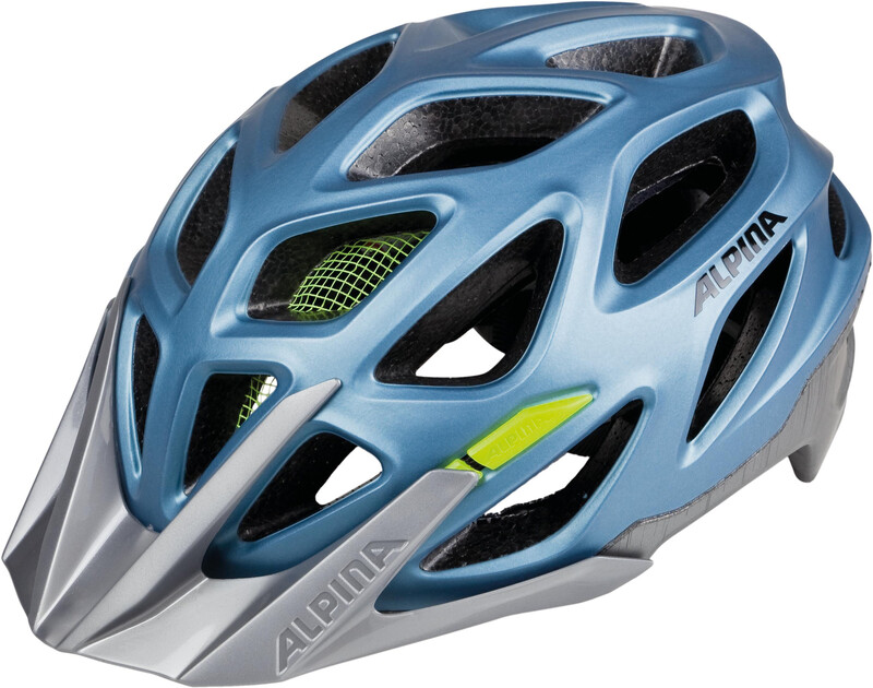 Alpina Mythos 3.0 L.E. Helmet blue metallic-neon 52-57cm 2018 Fahrradhelme