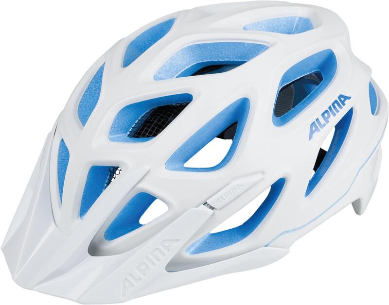 Alpina Mythos 3.0 L.E. Helmet white-blue 52-57cm 2018 Fahrradhelme