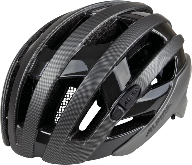 Alpina Campiglio Helmet titanium-black 55-59cm 2018 Fahrradhelme