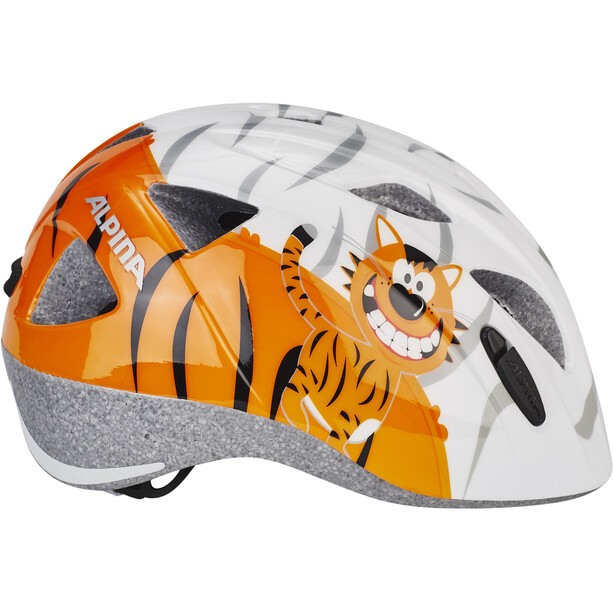 Alpina Ximo Helm Kinder little tiger