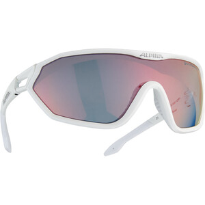 Alpina S-Way QVM+ Glasses white matt white matt