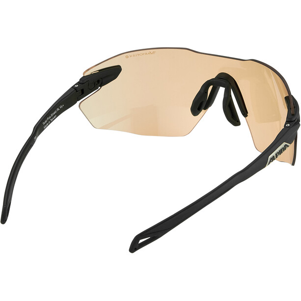 Alpina Twist Five Shield RL VL+ Brille schwarz