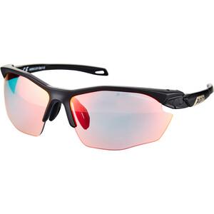 Alpina Twist Five HR QVM+ Brille black matt black matt