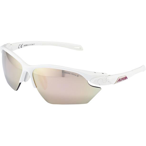Alpina Twist Five HR S CM+ Brille white matt