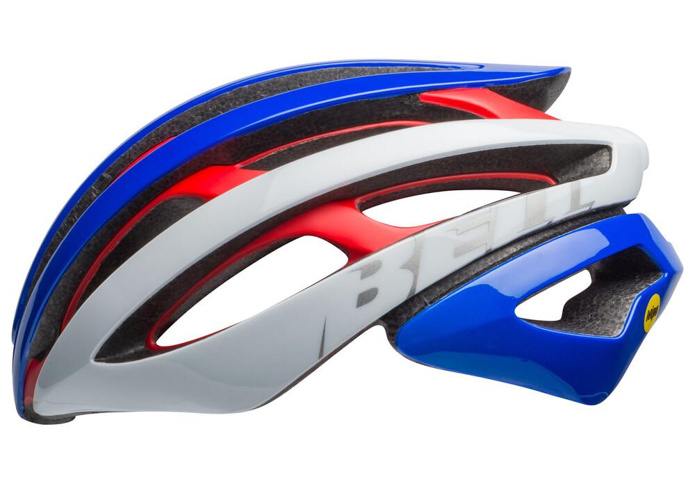 bell zephyr mips road helmet 18 red white pacific online kaufen. Black Bedroom Furniture Sets. Home Design Ideas