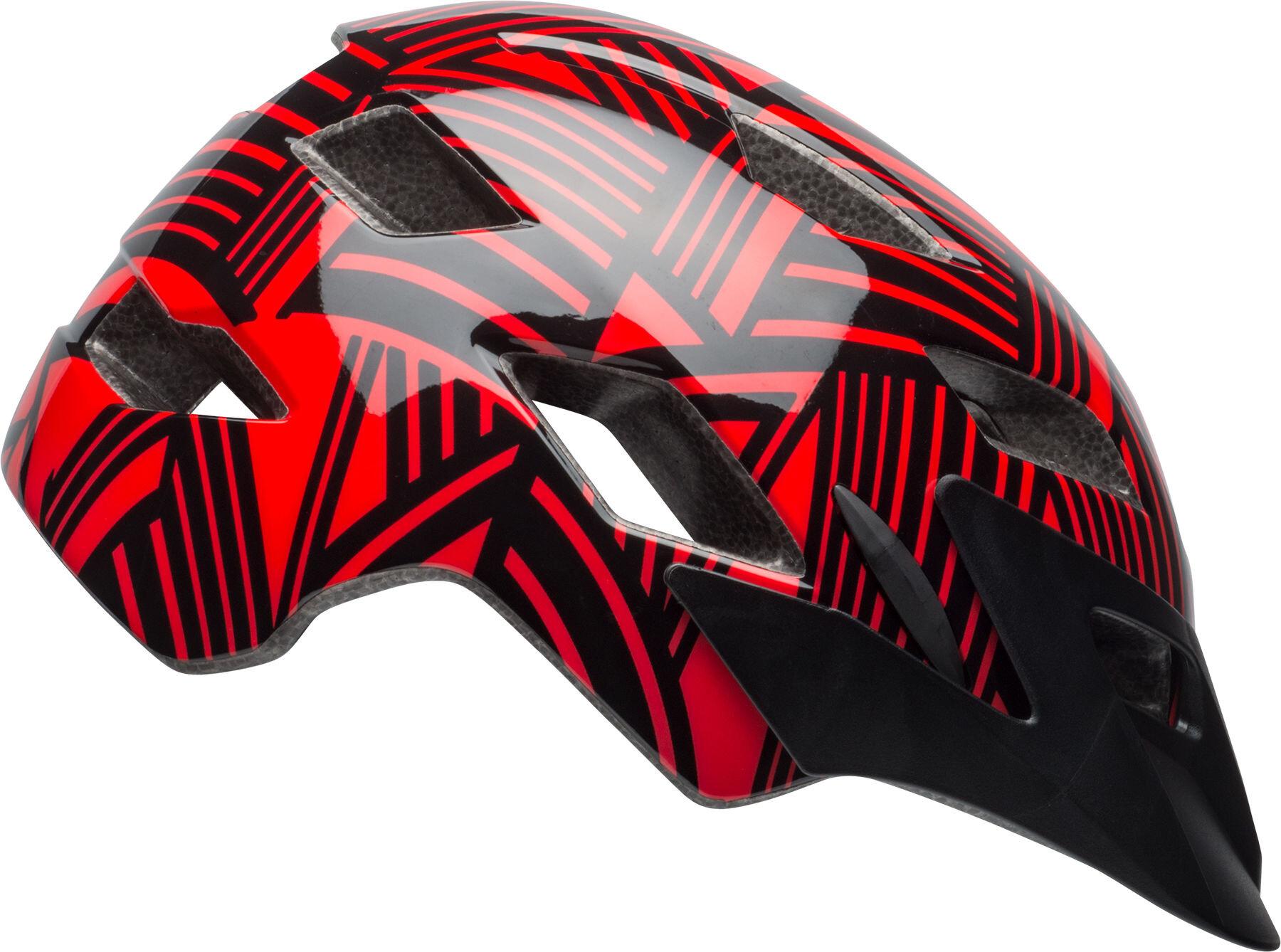 bell sidetrack y mips bike helmet children red black at. Black Bedroom Furniture Sets. Home Design Ideas