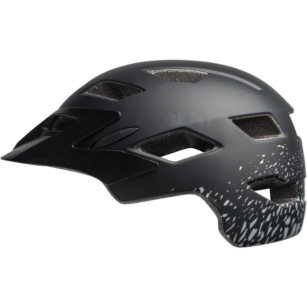 Bell Sidetrack Helm Kinder matte black/silver