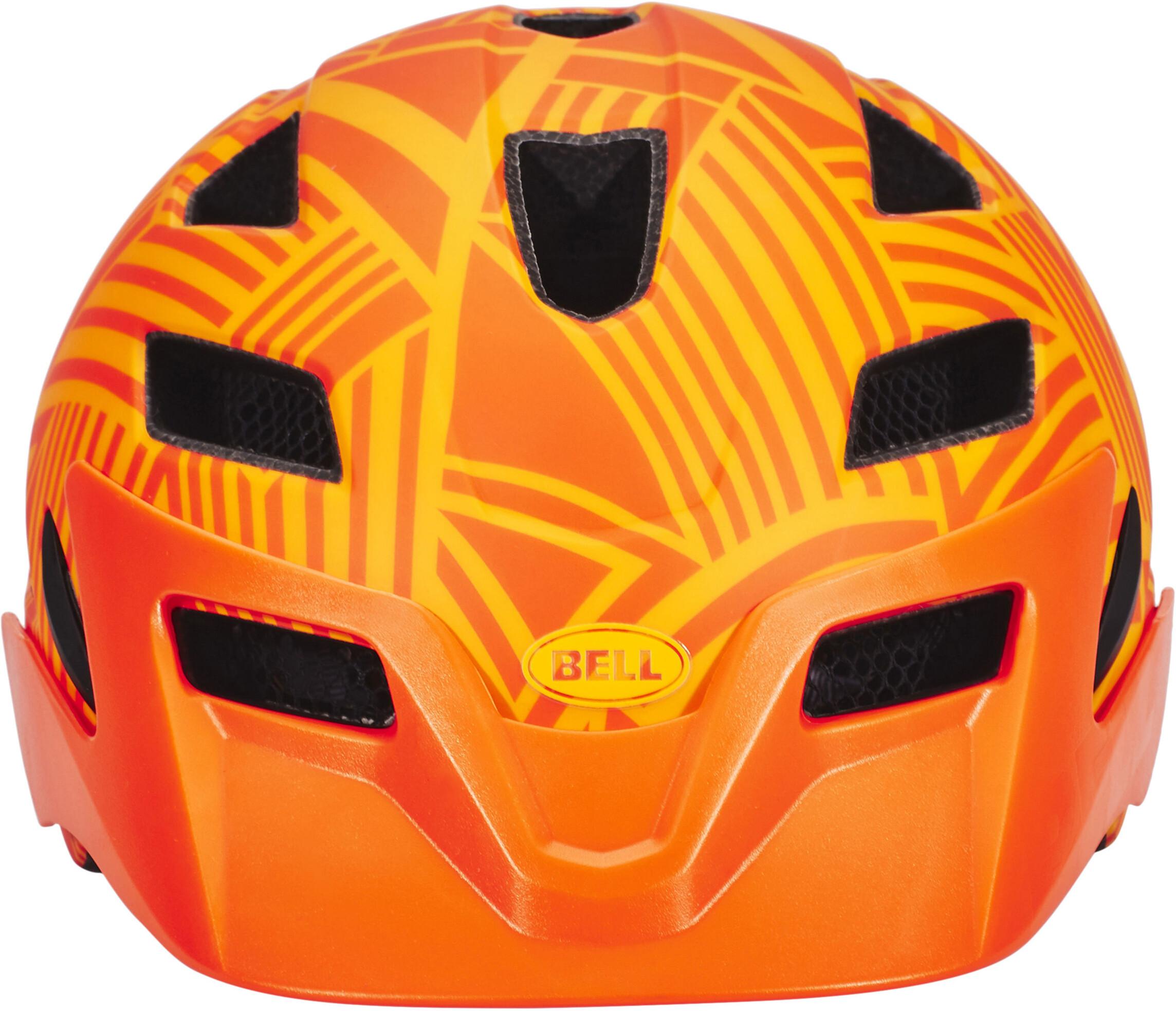 bell sidetrack bike helmet children orange at. Black Bedroom Furniture Sets. Home Design Ideas