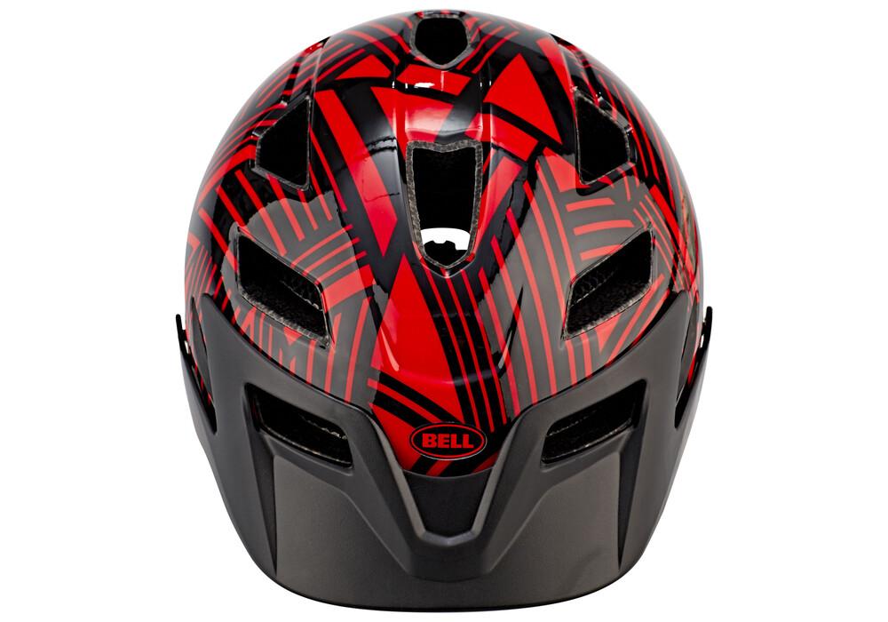 bell sidetrack child helmet red black seeker g nstig. Black Bedroom Furniture Sets. Home Design Ideas