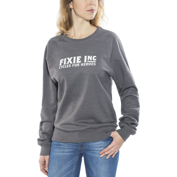 FIXIE Inc. Hero Sweater Unisex melange grey