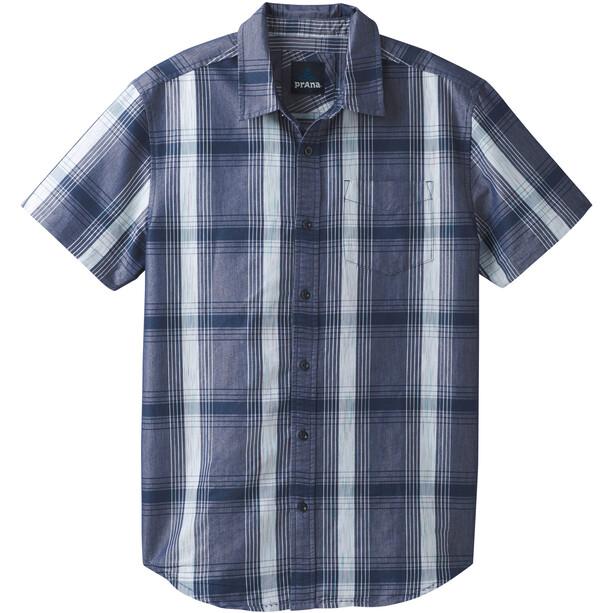 Prana Tamrack SS Shirt Herr blå