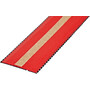 Bontrager Grippytack Rubans de cintre, noir/rouge