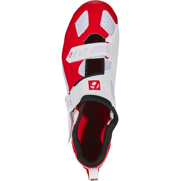 Bontrager Hilo Triathlonschuhe Herren red/white