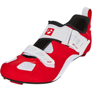 Bontrager Hilo Triathlonschuhe Herren red/white red/white