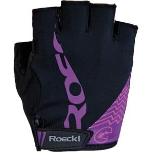 Roeckl Doria Handschuhe Damen schwarz/purple schwarz/purple
