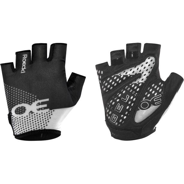 Roeckl Idro Handschuhe schwarz/weiß