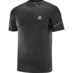 Salomon Agile Kurzarm T-Shirt 2019 Herren black black